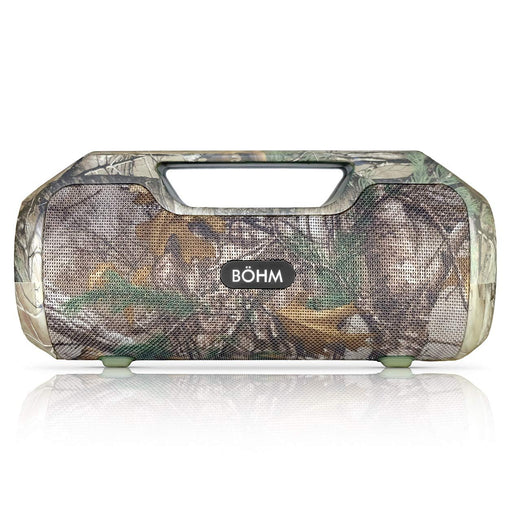 BÖHM IMPACT PLUS Wireless Bluetooth Speaker Water Resistant - Realtree Camo