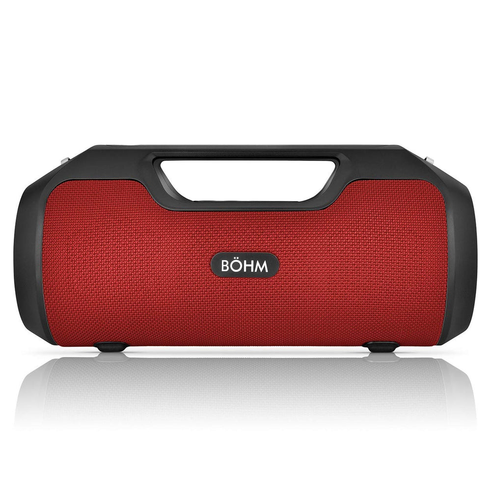 BÖHM IMPACT PLUS Wireless Bluetooth Speaker Water Resistant - Red