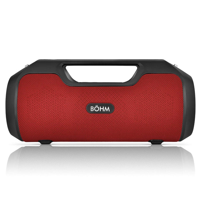 BOHM Impact Plus Bluetooth Speaker - Red/Black