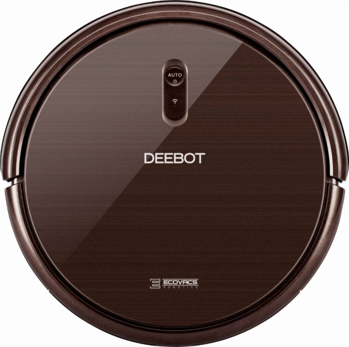 ECOVACS Robotics DEEBOT App-Controlled Self-Charging Robot Vacuum - Espresso (Certified Refurbished)