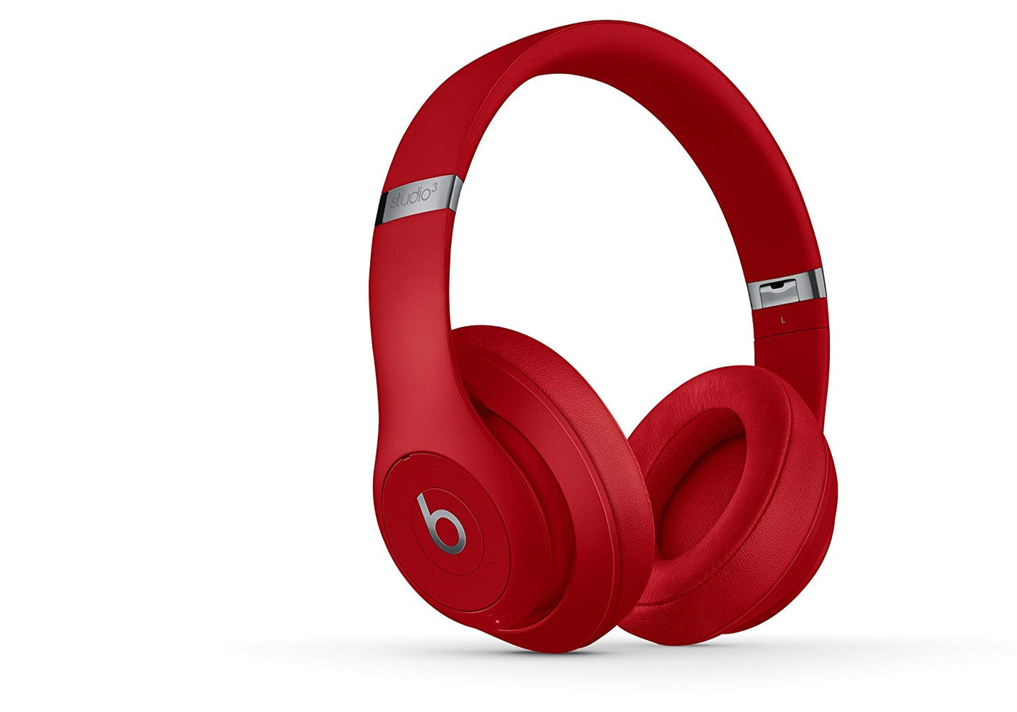 Beats By Dr. Dre Beats Studio3 Wireless Over-Ear Headphones - Red (Certified Refurbished)