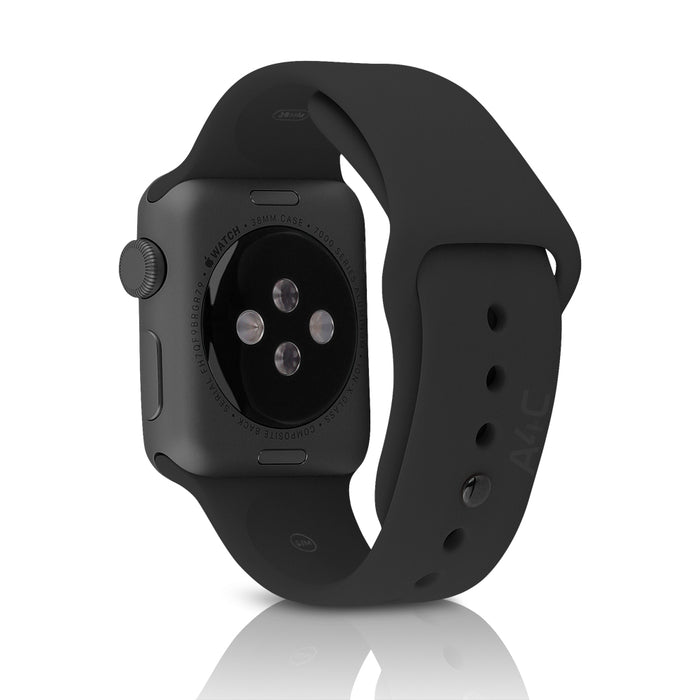 Apple Watch Series 1 w/ 42MM Space Gray Aluminum Case & Black Sport Band (Pre-Owned)