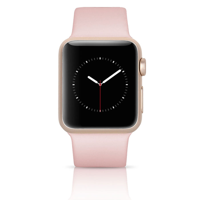 Apple Watch Series 3 GPS w/ 38MM Gold Aluminum Case & Pink Sand Sport Band (Pre-Owned)