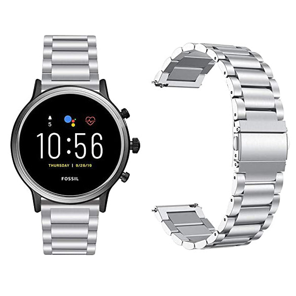 Fossil Q Explorist Gen 3 Smartwatch w/ 46mm Stainless Steel Case & Band (Pre-Owned)