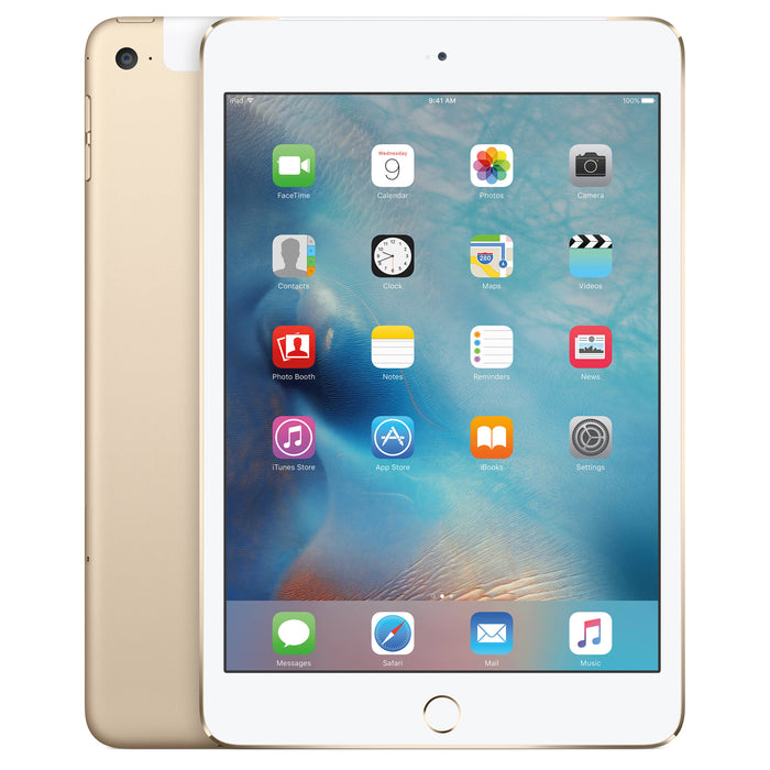 Apple iPad Mini 3rd Generation, 16GB, Wifi + Unlocked All Carriers - Gold (Pre-Owned)