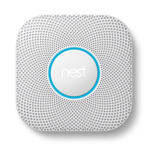 Nest Protect Battery-Powered Smoke and Carbon Monoxide Alarm 2nd Gen - White (Pre-Owned)