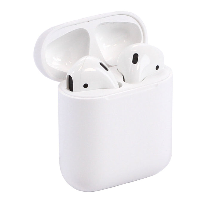 Apple AirPods 2 with Charging Case & MFI Cable, MV7N2AM/A - White (Pre-Owned)