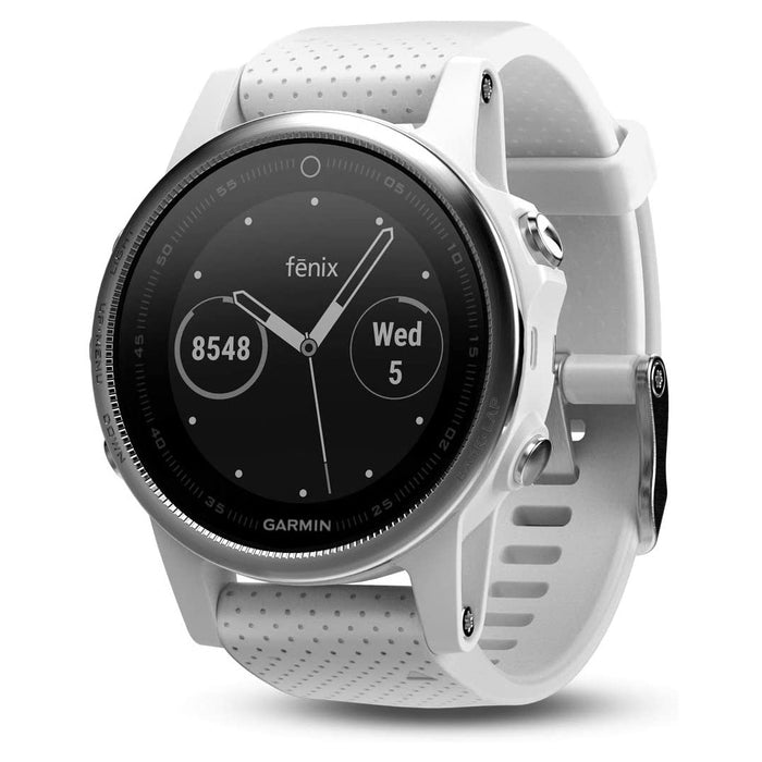 Garmin Fenix 5 Premium Multisport GPS Watch - White (Pre-Owned)
