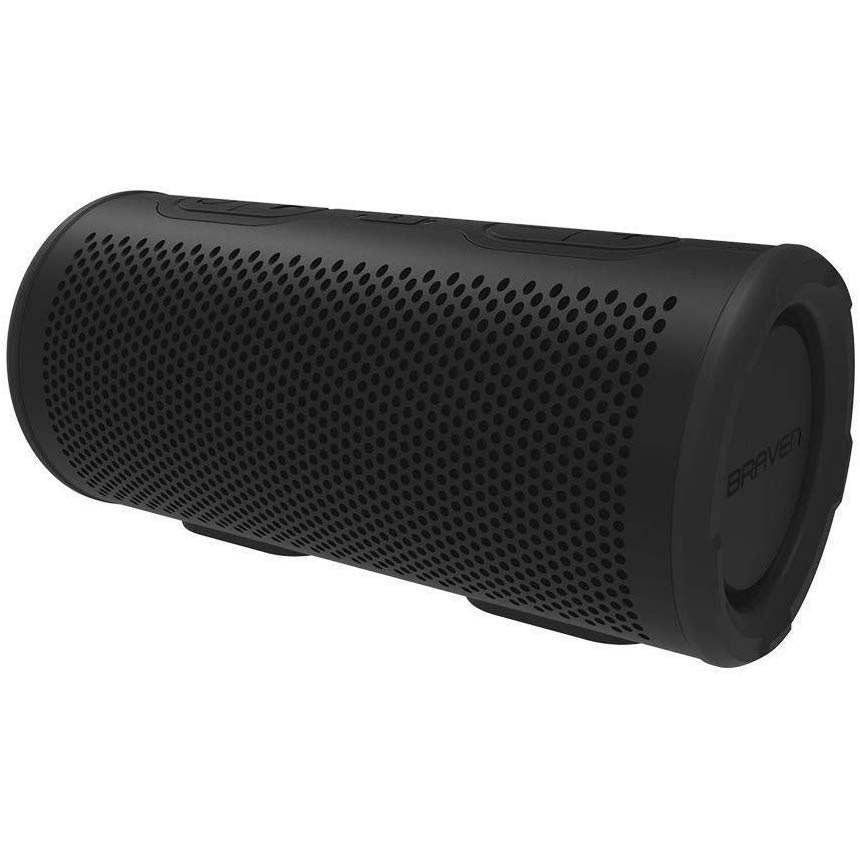 Braven - STRYDE 360 Waterproof Bluetooth Speaker - Black (Pre-Owned)