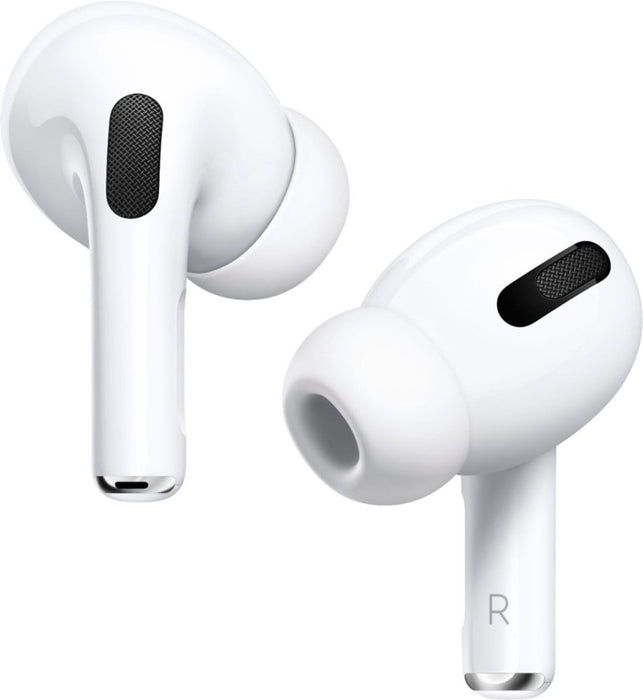 Apple AirPods Pro with OEM Lightning to USB-C Cable, MWP22AM/A - White (Pre-Owned)