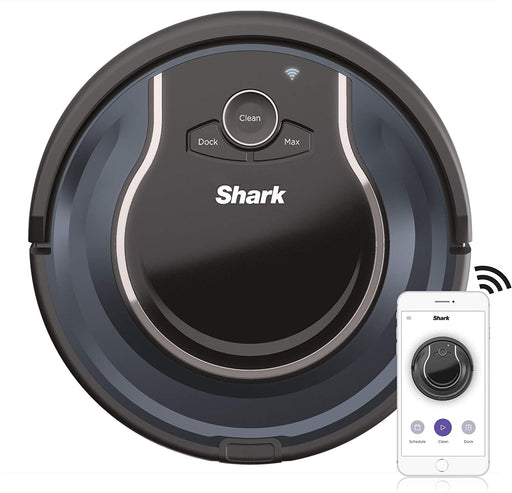 Shark ION ROBOT App-Controlled Robot Vacuum, RV761 - Black / Navy Blue (Pre-Owned)
