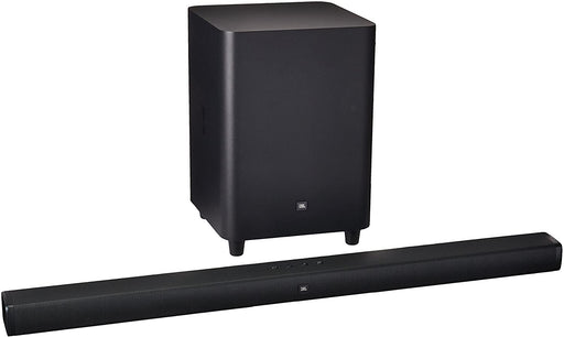 JBL BAR 3.1-Channel 4K Ultra HD Soundbar with Wireless Sub-woofer - Black (Pre-Owned)