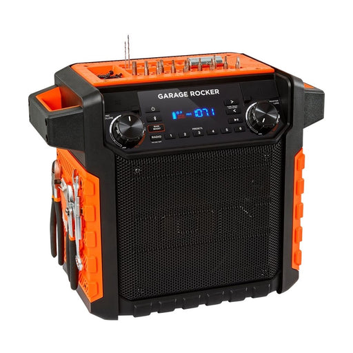 ION Audio Garage Rocker Portable Bluetooth Speaker - Black / Orange (Pre-Owned)
