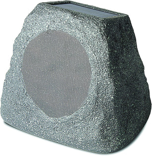 (Pre-Owned) ION Audio Solar Stone Wireless Solar-Rechargeable Garden Speaker