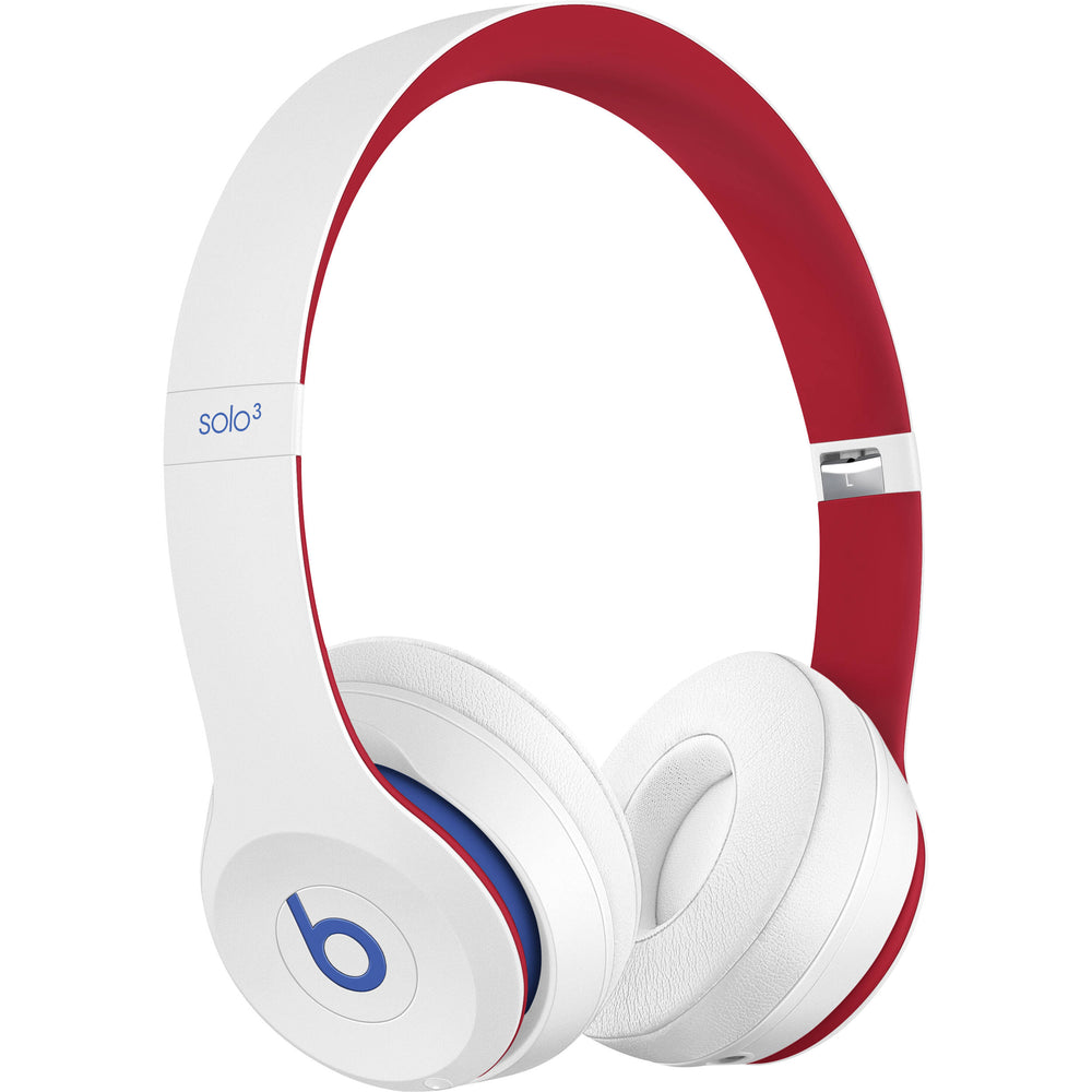 Beats Solo3 Wireless On-Ear Headphones - Beats Club Collection - Club White (Certified Refurbished)