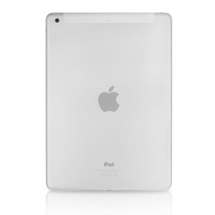 "Apple iPad Air 1st Generation, 9.7"", 64GB, Wi-Fi + GSM Unlocked - Silver (Pre-Owned)"