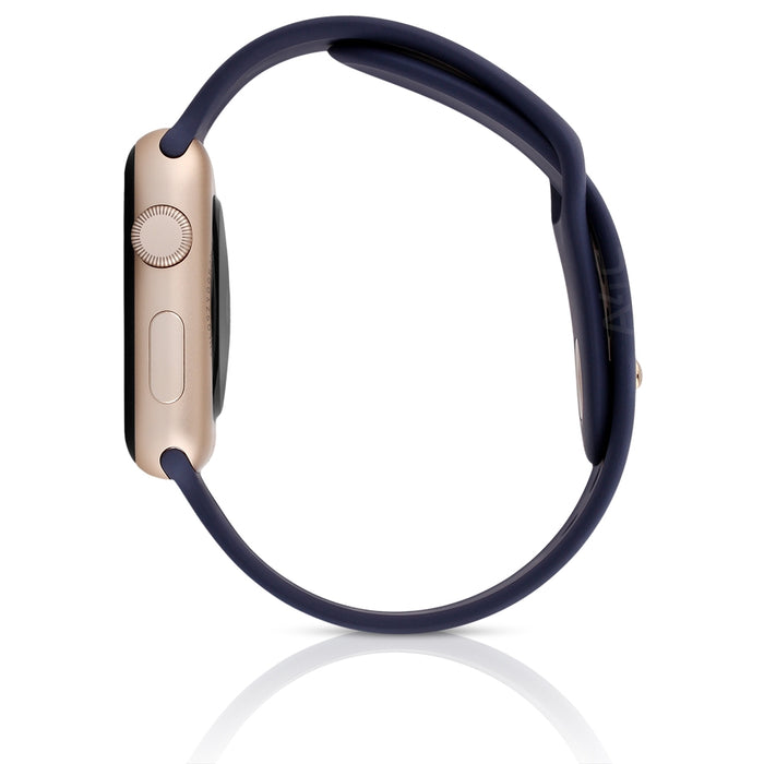 Apple Watch Series 2 w/ 38MM Gold Aluminum Case & Midnight Blue Sport Band (Refurbished)