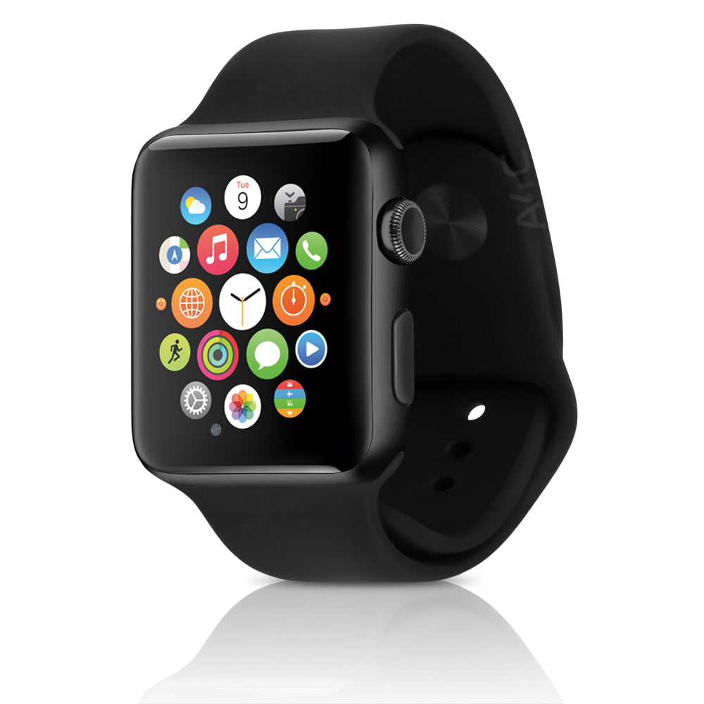 Apple Watch Series 2 w/ 42MM Space Gray Aluminum Case & Black Sport Band (Refurbished)