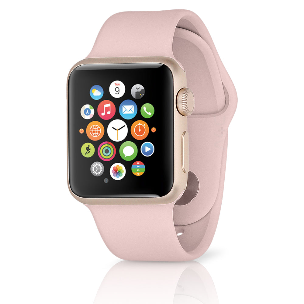 Apple Watch Series 2 w/ 42MM Rose Gold Aluminum Case & Pink Sand Sport Band (Refurbished)
