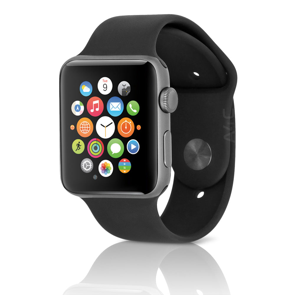 Apple Watch Series 3 (GPS) w/ 42MM Space Gray Aluminum Case & Dark Gray Sport Band (Refurbished)