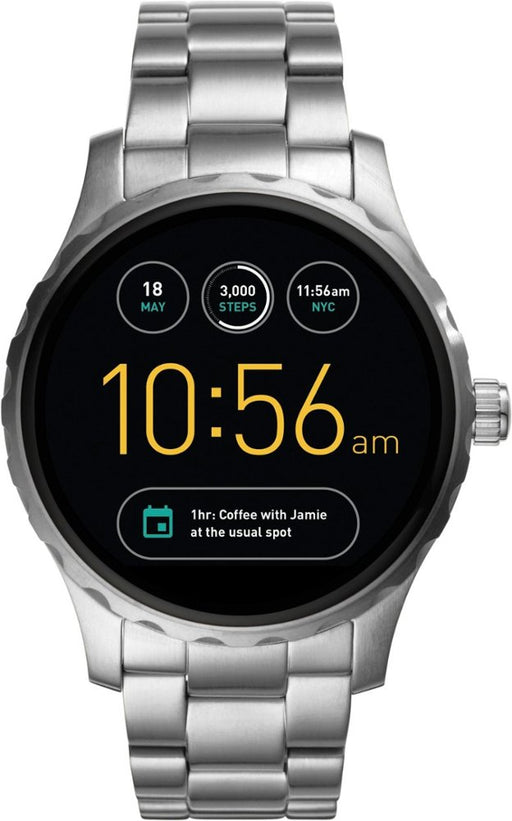 Fossil Q Wander Gen 2 Smartwatch w/ 45MM Silver Case & Steel Band (Refurbished)