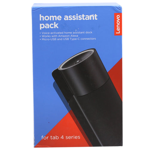 Lenovo Home Speaker Assistant Pack with Alexa - Black (Refurbished)