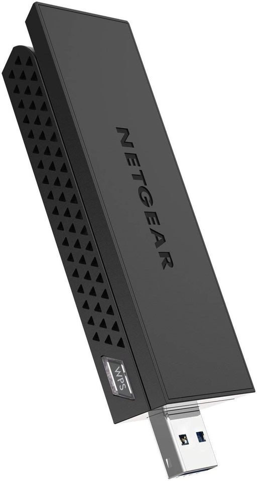 NETGEAR - AC1200 Dual-Band WiFi USB 3.0 Adapter - Black (Refurbished)