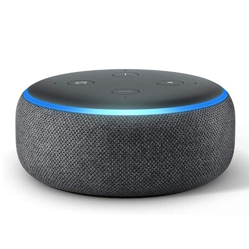 Amazon Echo Dot 3rd Generation with Amazon Alexa Voice Assistant -Charcoal Black (Refurbished)