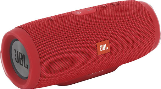 JBL Charge 3 Wireless Portable Bluetooth Speaker - Red (Refurbished)
