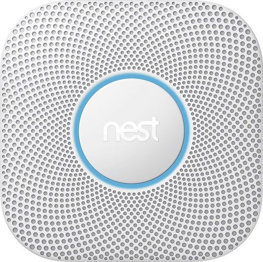 Nest Protect Battery-Powered Smoke and Carbon Monoxide Alarm (2nd Generation) - White (Refurbished)