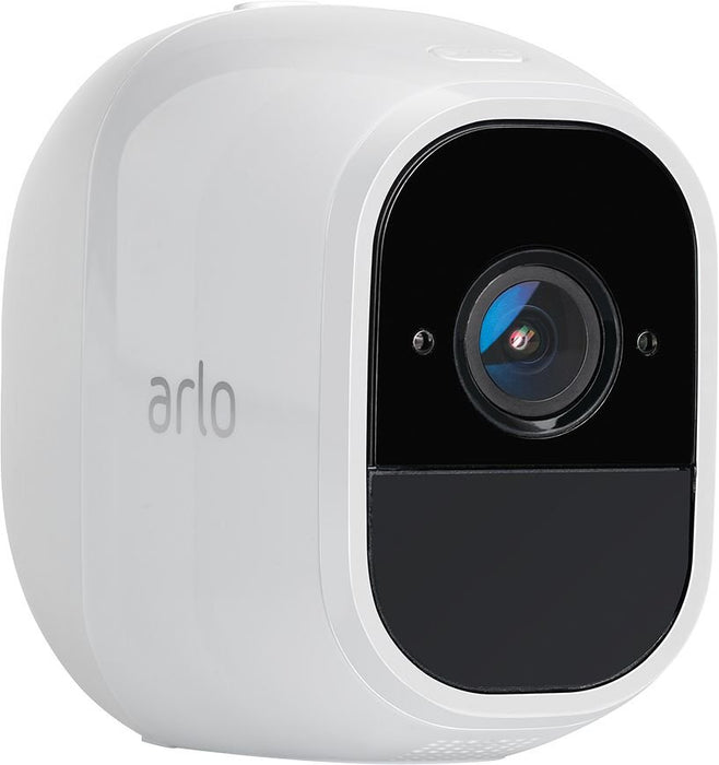 Arlo Pro - Wireless Home Security Camera System w/ 1 camera kit - White (Refurbished)