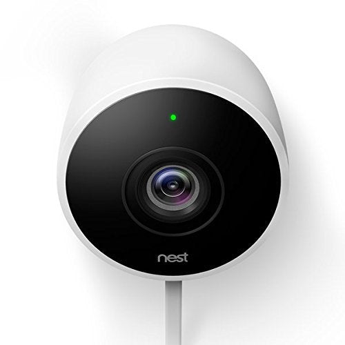 Nest Cam Outdoor Security Camera w/ Accessories -  White (Certified Refurbished)