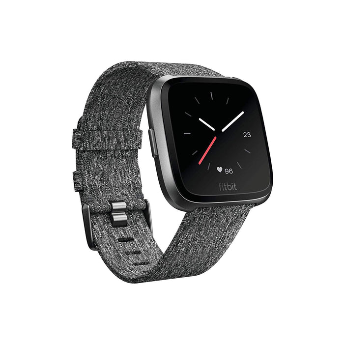 Fitbit Versa Special Edition - Charcoal (Refurbished)