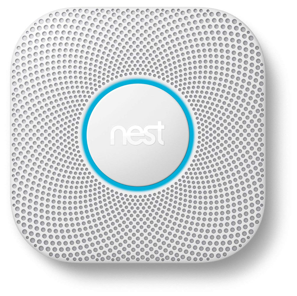 Nest Protect Wired Smoke and Carbon Monoxide Alarm120V - White (Refurbished)