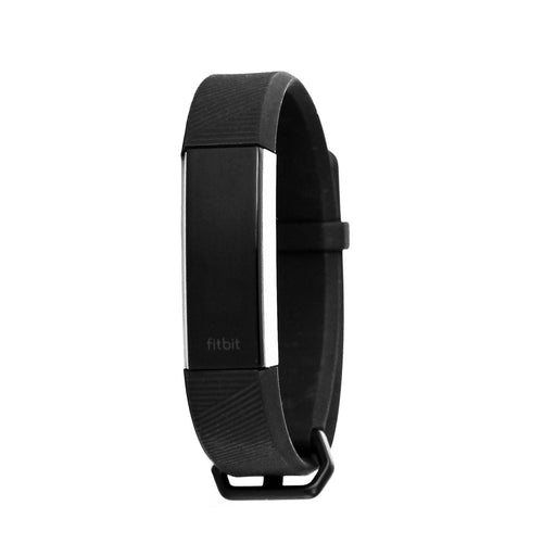 Fitbit Alta HR Activity Tracker + Heart Rate, Small Band - Black / Silver