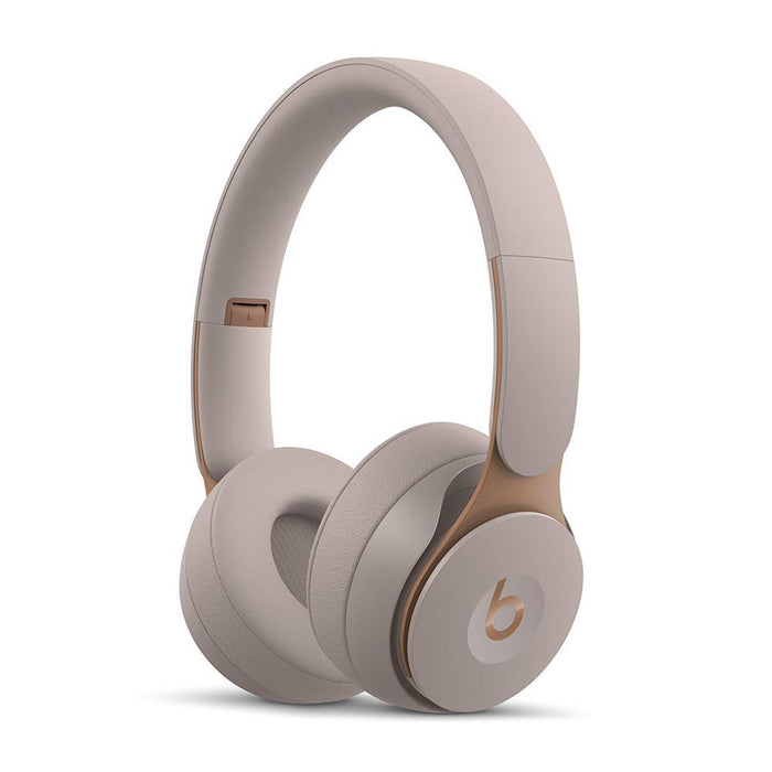 Beats Solo Pro Wireless Noise Cancelling On-Ear Headphones - Grey (Pre-Owned)