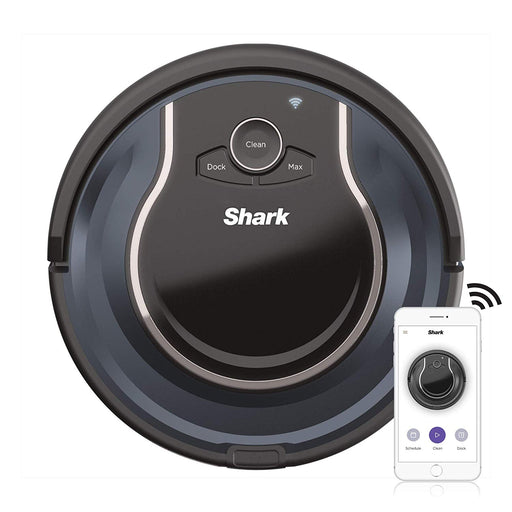 Shark ION ROBOT App-Controlled Robot Vacuum - Black / Navy Blue (Refurbished)