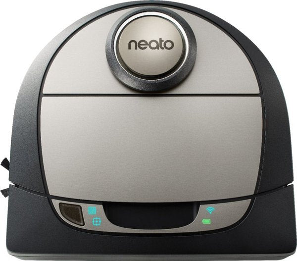 Neato Robotics Botvac D7 Connected App-Controlled Robot Vacuum - Black / Gray (Refurbished)