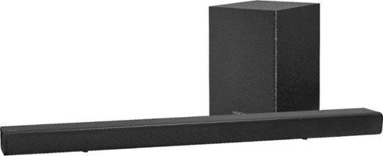 Insignia 2.1-Channel 80W Soundbar System with Wireless Subwoofer - Black (Pre-Owned)
