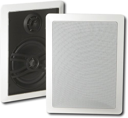 Yamaha Natural NS-IW470 3-Way In-Wall Speaker System - White (Refurbished)