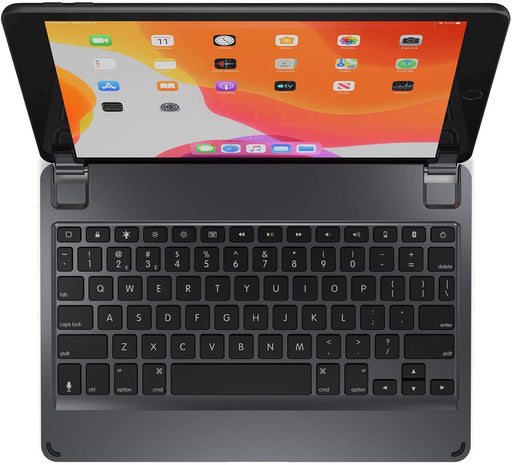 Brydge Wireless Bluetooth Keyboard for iPad 10.2-inch 7th Gen - Space Gray (Refurbished)