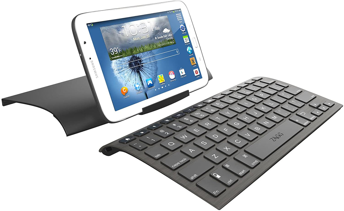 ZAGG Slim Book Wireless Keyboard & Detachable Case for iPad Pro 10.5 - Black (Refurbished)