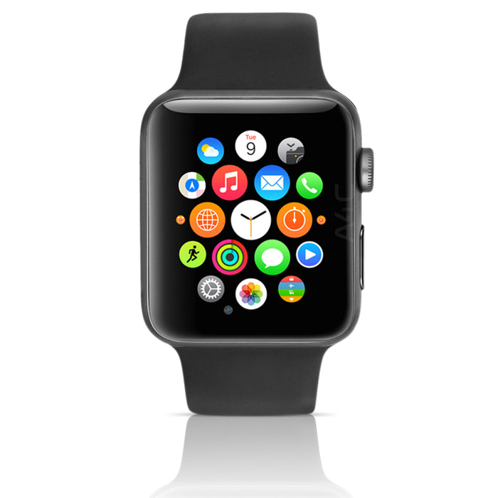 Apple Watch Series 4 GPS+LTE w/ 40MM Space Gray Aluminum Case & Black Sport Band (Refurbished)