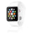 Apple Watch Series 4 (GPS+LTE) w/ 44MM Silver Aluminum Case & White Sport Band (Refurbished)