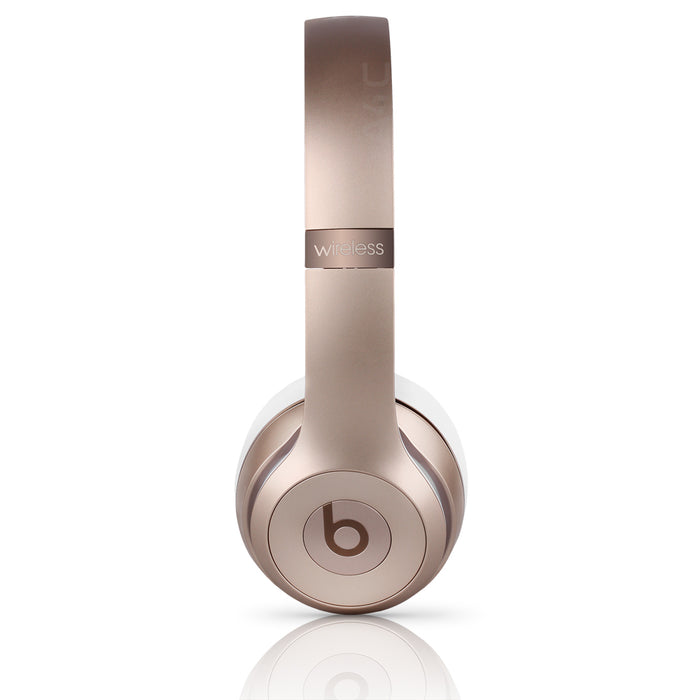 Beats By Dr. Dre Beats Solo3 Wireless On-Ear Headphones - Gold (Refurbished)