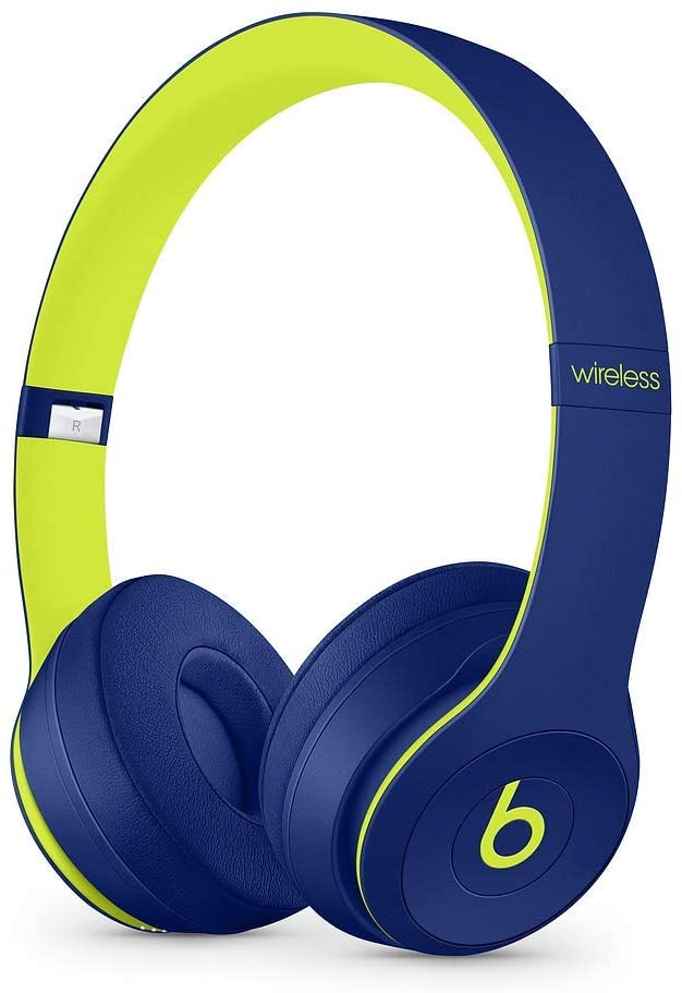 Beats By Dr. Dre Beats Solo3 Wireless On-Ear Headphones - Pop Indigo (Refurbished)