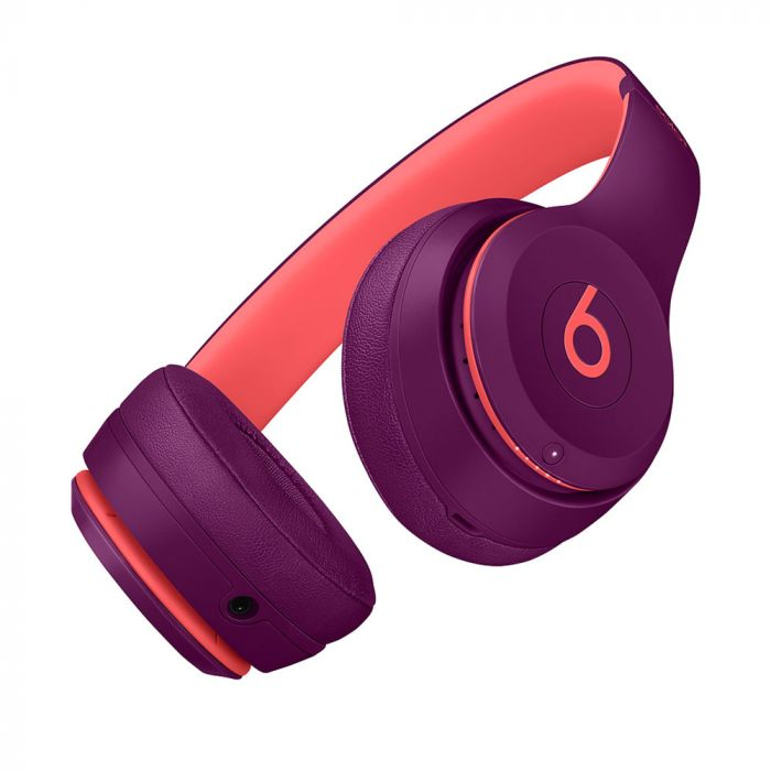 Beats Solo3 Wireless On-Ear Headphones - Beats Pop Collection - Pop Magenta (Refurbished)