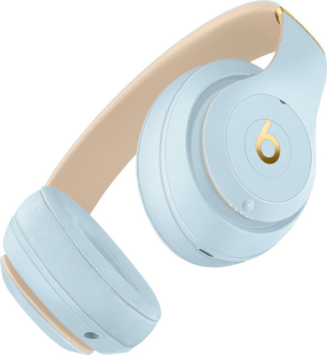 Beats Studio3 Wireless On-Ear Headphones - The Skyline Collection - Crystal Blue (Certified Refurbished)