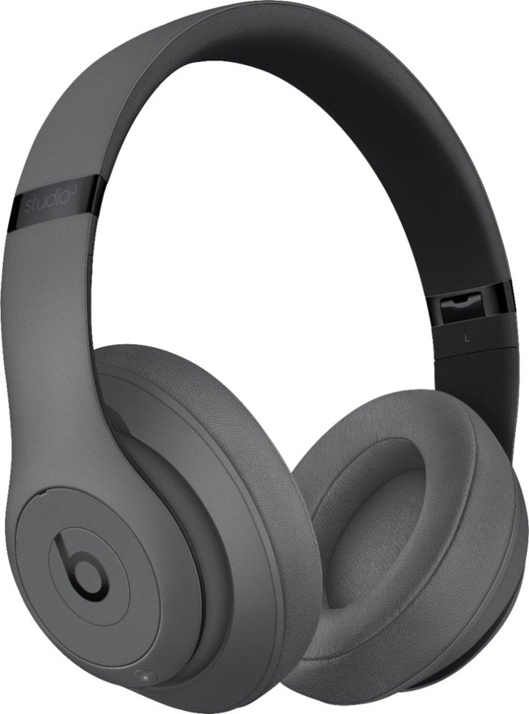 Beats By Dr. Dre Beats Studio3 Wireless Over-Ear Headphones - Gray (Refurbished)