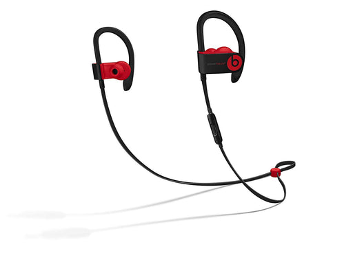 Beats By Dr. Dre PowerBeats3 Wireless In-Ear Headphone - Defiant Black-Red (Refurbished)